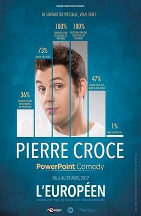 PIERRE CROCE DANS POWERPOINT COMEDY (L'Europeen)