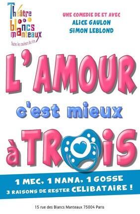 L'AMOUR C'EST MIEUX A TROIS !