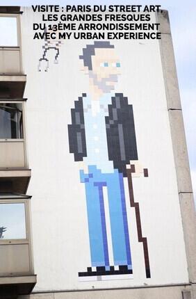 VISITE : PARIS DU STREET ART, LES GRANDES FRESQUES DU 13EME ARRONDISSEMENT AVEC MY URBAN EXPERIENCE
