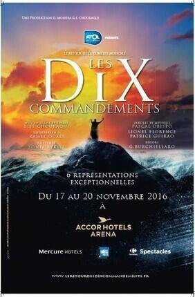LE RETOUR DE LA COMEDIE MUSICALE LES DIX COMMANDEMENTS