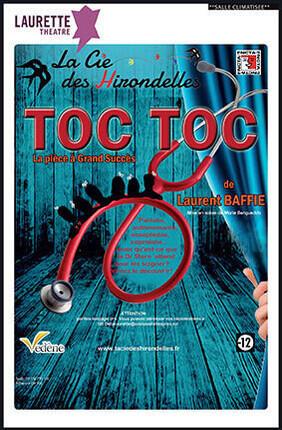 TOC TOC DE LAURENT BAFFIE (théâtre Laurette)