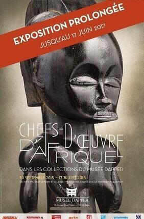 VISITE LIBRE DE L'EXPOSITION CHEFS-D'OEUVRE D'AFRIQUE