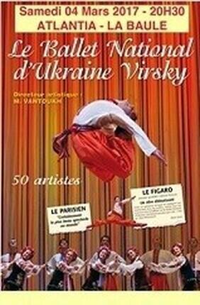 LE BALLET NATIONAL D'UKRAINE VIRSKY (La Baule)