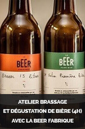 ATELIER BRASSAGE ET DEGUSTATION DE BIERE (4H) AVEC LA BEER FABRIQUE