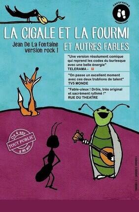LA CIGALE ET LA FOURMI ET AUTRES FABLES (Versailles)