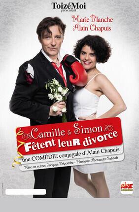 CAMILLE ET SIMON FETENT LEUR DIVORCE A Versailles