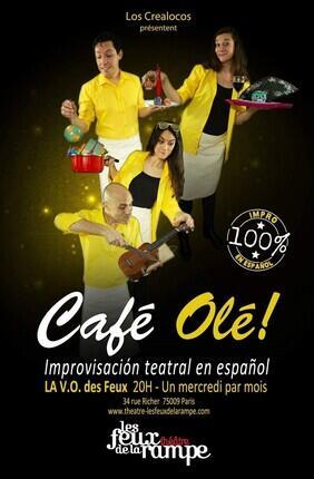 LA V.O. DES FEUX PRESENTE LOS CREALOCOS DANS CAFE OLE !