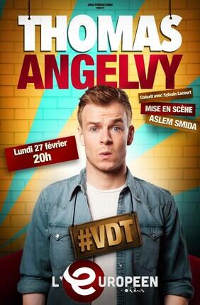 THOMAS ANGELVY DANS #VDT (L'Europeen)