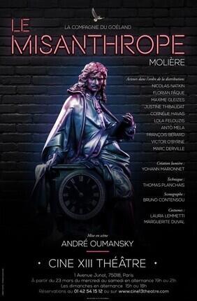 LE MISANTHROPE,  MISE EN SCENE D'ANDRE OUMANSKY