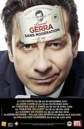 LAURENT GERRA SANS MODERATION (L'Olympia)