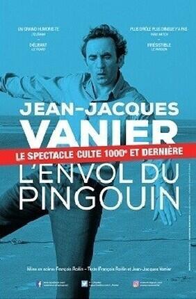 JEAN-JACQUES VANIER DANS L'ENVOL DU PINGOUIN A AIX EN PROVENCE