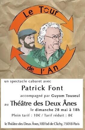 LE TOUR DE L'AN AVEC PATRICK FONT