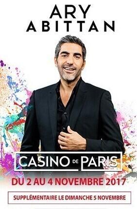 ARY ABITTAN DANS MY STORY (Casino de Paris)