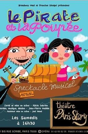 LE PIRATE ET LA POUPEE (Paris Story)