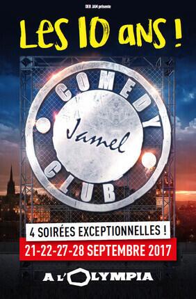 LES 10 ANS du JAMEL COMEDY CLUB