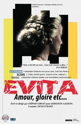 FRINGE - EVITA, AMOUR, GLOIRE, ETC