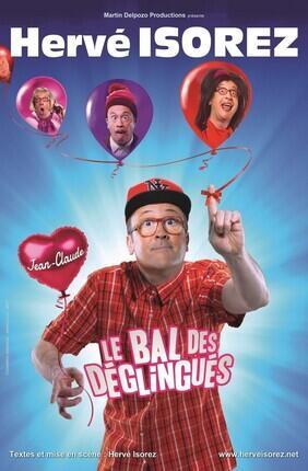HERVE ISOREZ DANS LE BAL DES DEGLINGUES (Theatre du Gymnase)