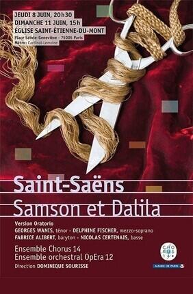 SAMSON ET DALILA DE CAMILLE SAINT-SAENS