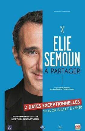 ELIE SEMOUN DANS A PARTAGER (Le Palace Avignon)