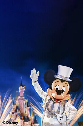 DISNEYLAND® PARIS - BILLET SUPER MAGIC - 1 JOUR / 1 OU 2 PARCS