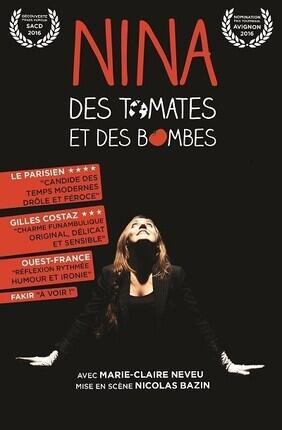 NINA, DES TOMATES ET DES BOMBES (Espace Saint Martial)