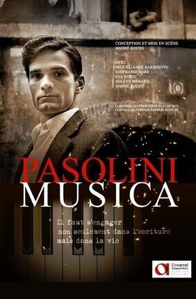 PASOLINI MUSICA (Espace Roseau)