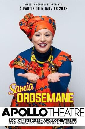 SAMIA OROSEMANE DANS FEMME DE COULEURS