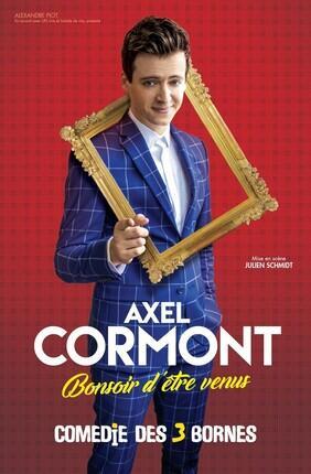 AXEL CORMONT DANS BONSOIR D'ETRE VENUS (Comedie des 3 Bornes)