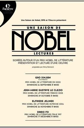 UNE SAISON DE NOBEL - LECTURES