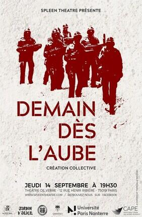DEMAIN DES L'AUBE (Theatre de Verre)