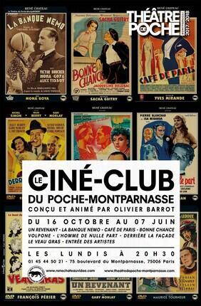 LE CINE-CLUB DU POCHE MONTPARNASSE