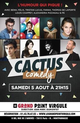 CACTUS COMEDY (Le Grand Point-Virgule)