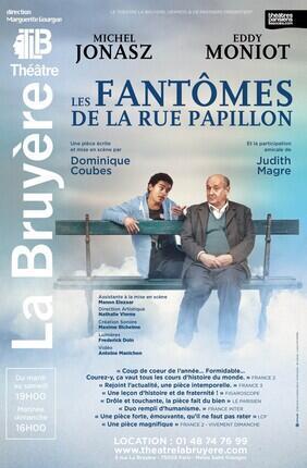 LES FANTOMES DE LA RUE PAPILLON AVEC MICHEL JONASZ (Theatre la Bruyere)