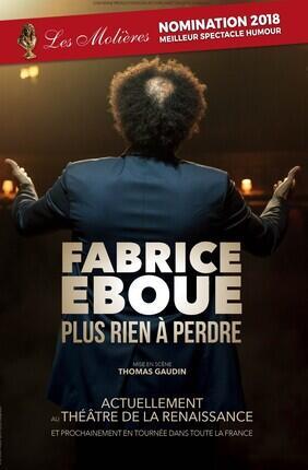 FABRICE EBOUE - NOUVEAU SPECTACLE