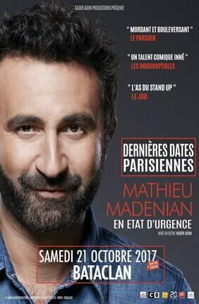 MATHIEU MADENIAN - EN ETAT D'URGENCE (Bataclan)