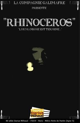 RHINOCEROS (Theatre Darius Milhaud)