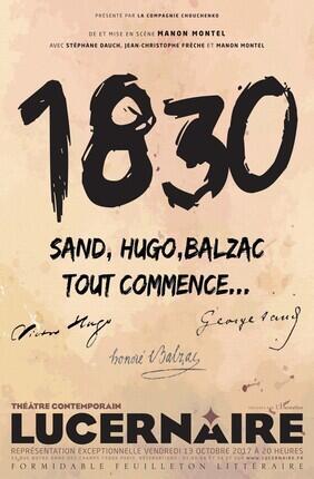1830 (Theatre Lucernaire)
