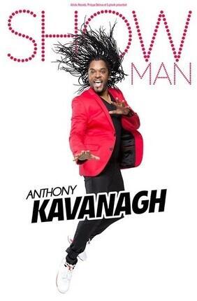 ANTHONY KAVANAGH DANS SHOW MAN (Bourse du Travail)