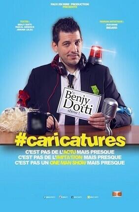 BENJY DOTTY DANS #CARICATURES (Toulon)