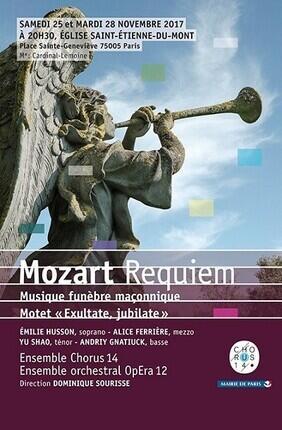 REQUIEM DE MOZART (Eglise Saint Etienne du Mont)