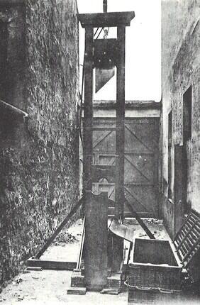 CONFERENCE EN SALLE : LA GUILLOTINE AVEC PARIS HISTORIQUE