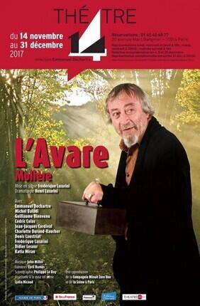 L'AVARE (Theatre 14)