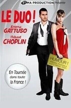 EMMA GATTUSO ET THIBAUD CHOPLIN DANS LE DUO (Angers)