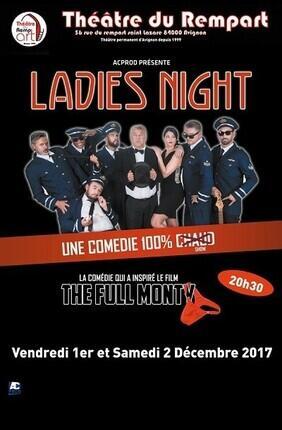 LADIES NIGHT (Theatre du Rempart)