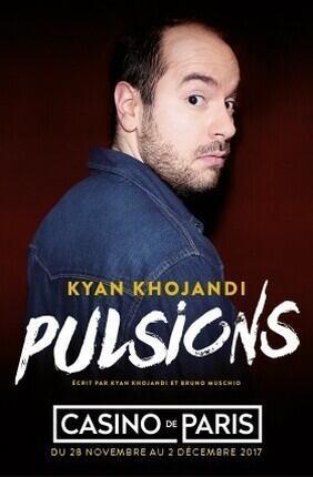 KYAN KHOJANDI DANS PULSIONS (Casino de Paris)