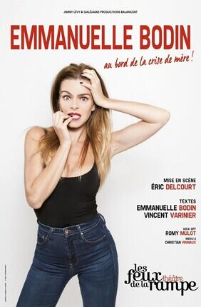 EMMANUELLE BODIN DANS FEMME AU BORD DE LA CRISE DE MERE (Les Feux de la Rampe)