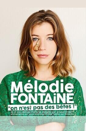 MELODIE FONTAINE DANS ON N'EST PAS DES BETES (Compagnie du Café Theatre)