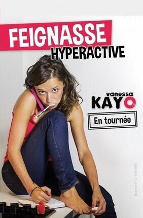 VANESSA KAYO DANS FEIGNASSE HYPERACTIVE (Comedie La Rochelle)