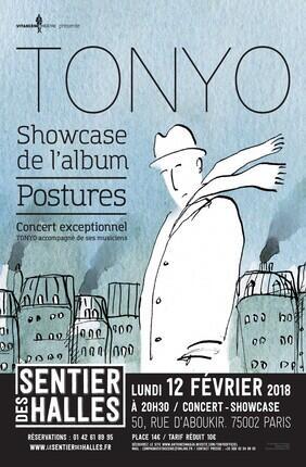TONYO - SHOWCASE DE L'ALBUM POSTURES