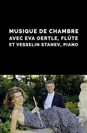 EVA OERTLE, FLUTE & VESSELIN STANEV, PIANO A LYON